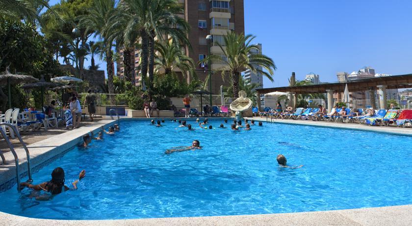 Hotel poseid n playa hoteles baratos en benidorm con vistas al mar - Hoteles con piscina cubierta en benidorm ...